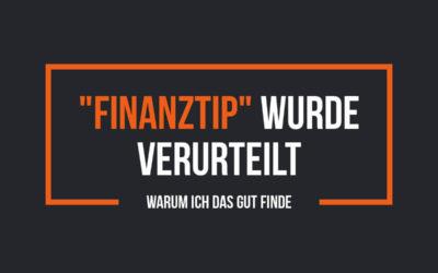 Das Portal Finanztip wurde verurteilt